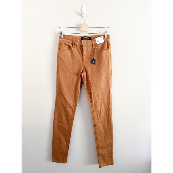 Express Legging Mid Rise Jean Pants